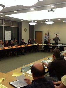 Steering Committee effort on the Portage County Bike/Ped Plan is underway
