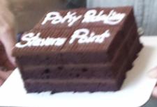 choc ride cake icing karen