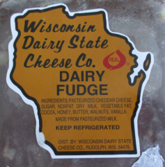 choc ride cheese label