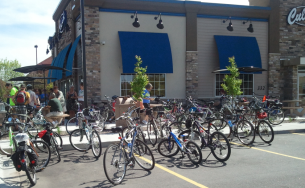 choc ride culvers outside karen