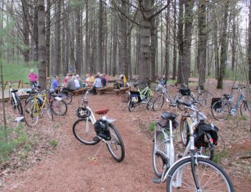 ppppicnic sculpture park bikes