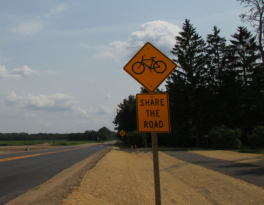 share road sign pic