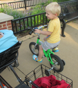 young Poky Pedaler