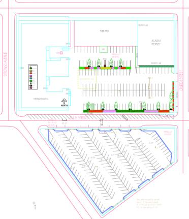 map sentry ellis parking proposal