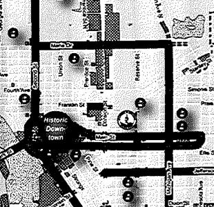 TAP grant map pre-app