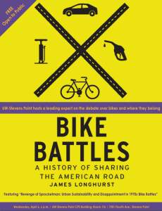 UWSP Bike Battles poster