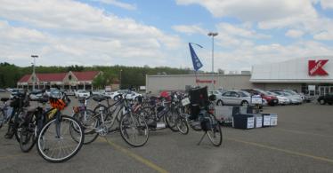 S&DB bikes K-Mart